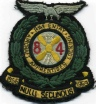 84th Entry blazer badge.
